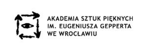 Logo Akademii Sztuk Pięknych im. Eugeniusza Gepperta we Wrocławiu
